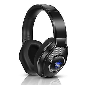Bluetooth Headphone Over Ear Folable(Blue)