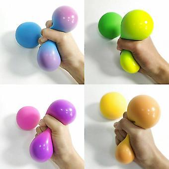 שינוי צבע ני דו - Ccsq סקווש לסחוט מתח בצק צעצוע מתיחה