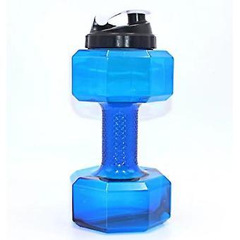 Botella de agua de mancuerna de 2.2l