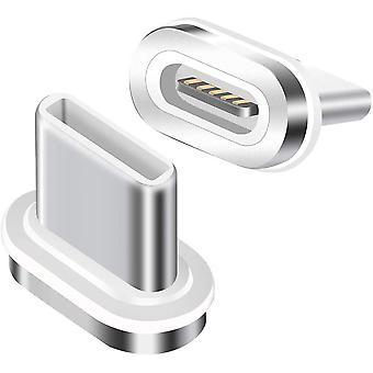 Adattatore magnetico a 2 pezzi Spina di sostituzione magnetica (senza cavo)