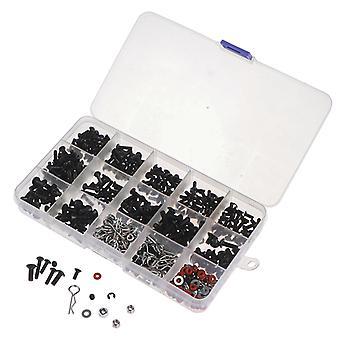 500 Pcs Screw Box Set Repair Tool, Suitable For 1/10 Hsp Remote Control Car