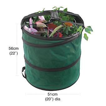 Medium Pop Up Garden Bag Collecting Rubbish Waste Grass Tidy Sack