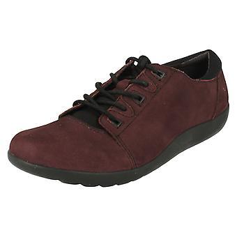 Ladies Clarks Lace Up Flat Shoes Medora Bella