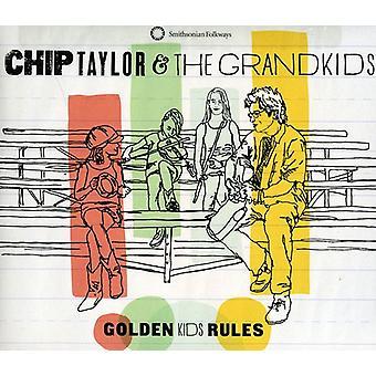Chip Taylor & ses petits-enfants - règles d'or de Kids [CD] USA import