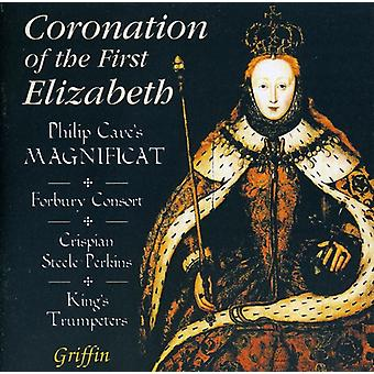 Forbury Consort/King's Trumpeters - Coronation of the First Elizabeth [CD] USA import