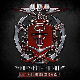 U.d.o. - Navy Metal Night (2CD/DVD) [CD] USA importare