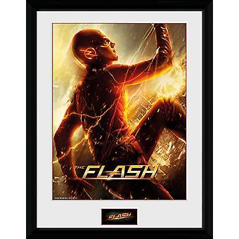 The Flash Run Framed Collector Print