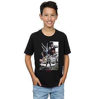 Star Wars Jungs die letzten Jedi Charakter Poster-t-Shirt