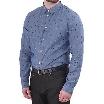 Paul Smith Jeans Paul Smith Mens Ls Slim Fit Shirt With Spot Print
