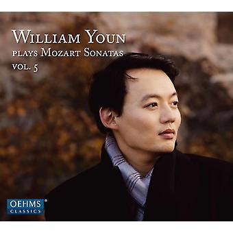 Mozart / Youn - Mozart: Pia Sonatas 5 [CD] USA import