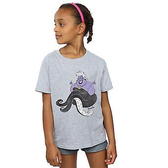ディズニーの女の子小さな人魚クラシック ウルスラ t シャツ
