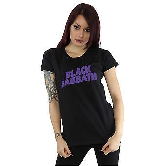 Black Sabbath naisten Wavy logo T-paita