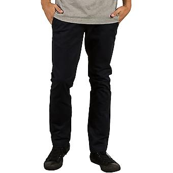 Volcom Frickin Slim Chino Trousers in Black