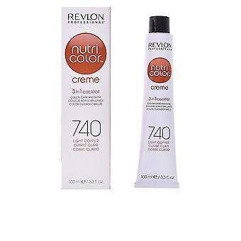 Revlon Nutri Color Creme #740-luz cobre 100 Ml Unisex
