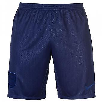 2018-2019 England Home Nike Shorts (Marine)