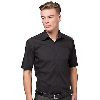 Negócio de ajuste fino de Mens Kustom Kit camisa manga curta