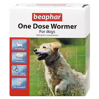 Beaphar One Dose Wormer Treatment For Dogs