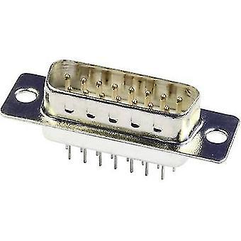 ECON koble ST15PV D-SUB pin stripe 180 ° antall pinner: 15 loddetinn pinnene 1 eller flere PCer