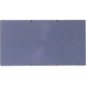 52414 H0, TT kunststof vellen zwart (L x b) 200 mm x 100 mm kunststof