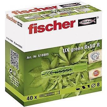 Fischer UX groen 8 x 50 R universele vattenproducenten 50 mm 8 mm 518886 40 PC('s)