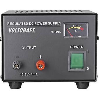 VOLTCRAFT FSP-1136 Bench PSU (fixed voltage) 13.8 V DC 6 A 85 W No. of outputs 1 x