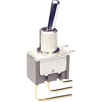 NKK Switches M2012S2A2W23 Toggle switch 250 V AC 3 A 1 x On/On latch 1 pc(s)