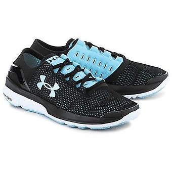 Under Armour speed form turbulence running shoe ladies black 1289791-002