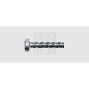 SWG Shoulder screw set M6 16 mm Phillips DIN 7985 Steel zinc plated 100 pc(s)