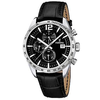 Festina watch watches Mr chronograph F16760-4