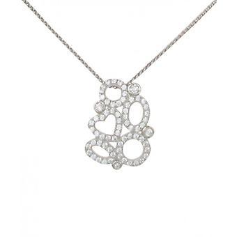 Coeur de Français Cavendish et pendentif boucles sans chaîne