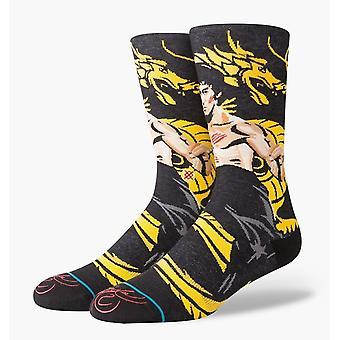 Stance Dragon Crew Socken in Schwarz