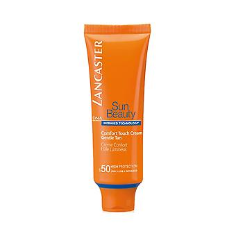 Lancaster Sun Comfort Touch Cream Gentle Tan for Face SPF50 50ml - High Protection