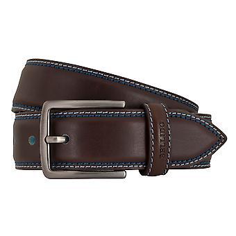 MIGUEL BELLIDO sports wear belts men's belts leather belt Brown 7712