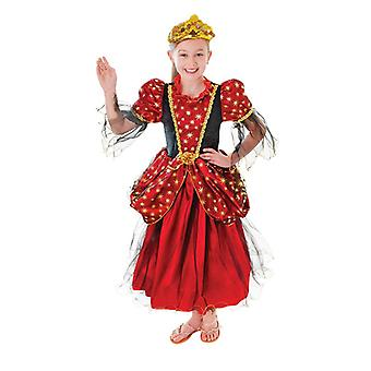 Gold Star Princess Dress (Small Age 3-5)