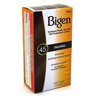 Bigen Permanent Powder Hair Colour Chocolate(45)
