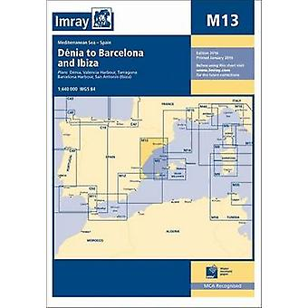 Imray Chart - Denia to Barcelona and Ibiza (New edition) by Imray - 97