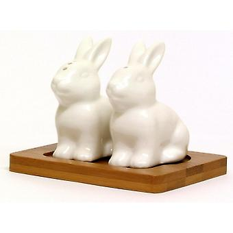 JOE DAVIES Cruet Set 60482 White Rabbit