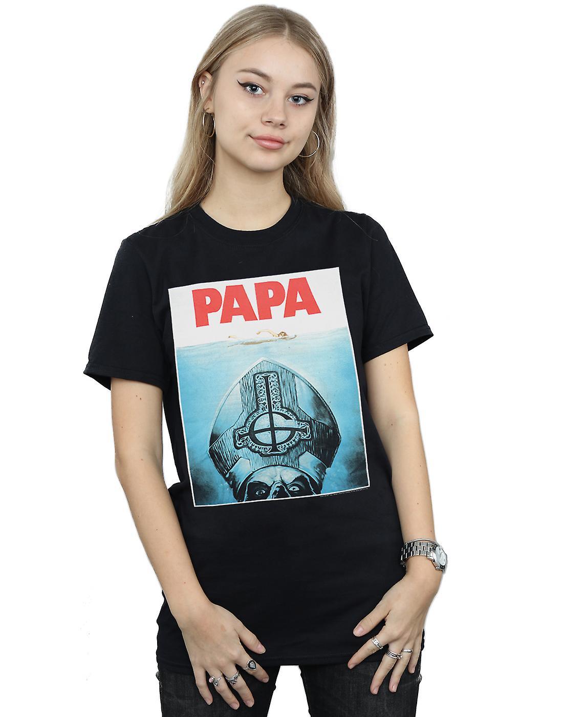 Ghost Women's Papa Jaws Boyfriend Fit T-Shirt