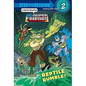 Rettile Rumble! (DC Super Friends)