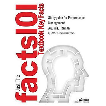 StudyGuide für Performancemanagement von Aguinis, Herman, ISBN 9780136151753