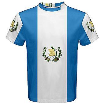 Vlag van Guatemala gesublimeerd sport Jersey