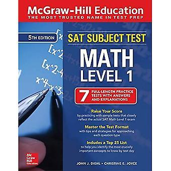 McGraw-Hill utbildning lör ämne Test Math nivå 1, femte upplagan