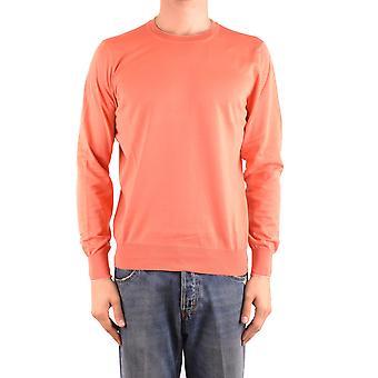 Brunello Cucinelli Ezbc002079 Hombres's Suéter de Algodón Naranja
