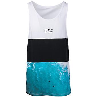 Rip Curl Busy Time Sleeveless T-Shirt in Optical White