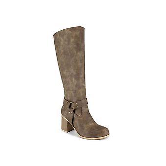 DOLCE by Mojo Moxy Womens Dora Almond Toe Knee High Fashion Boots