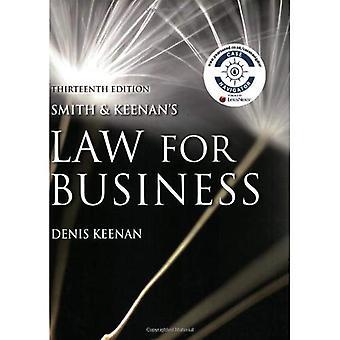 Smith en Keenan van wetgeving voor het bedrijfsleven
