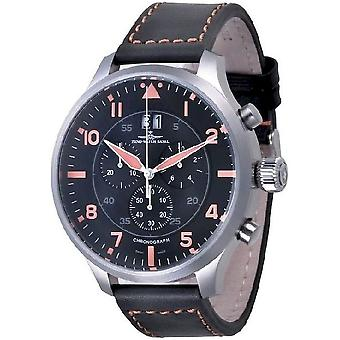 Zeno-Watch Herrenuhr Super Oversized Chrono Navigator 6221N-8040Q-a15