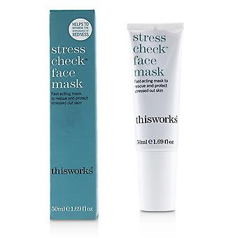 This Works Stress Check Face Mask - 50ml/1.69oz