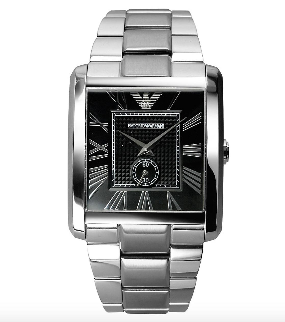 Emporio Armani Ar1642 Men's Classic Stainless Steel Watch