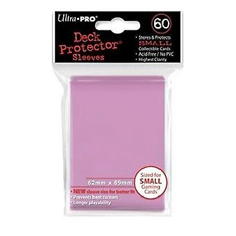 Ultra Pro Deck Protectors Solid Small Size Pink